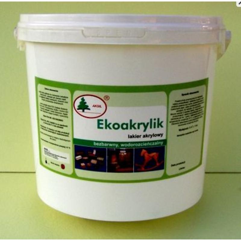Bezbarwny ekologiczny lakier akrylowy nadający się do zabezpieczania półek w klatkach dla szynszyli