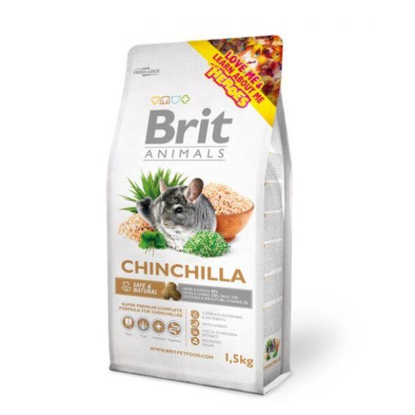 karma brit animal complete dla szynszyli
