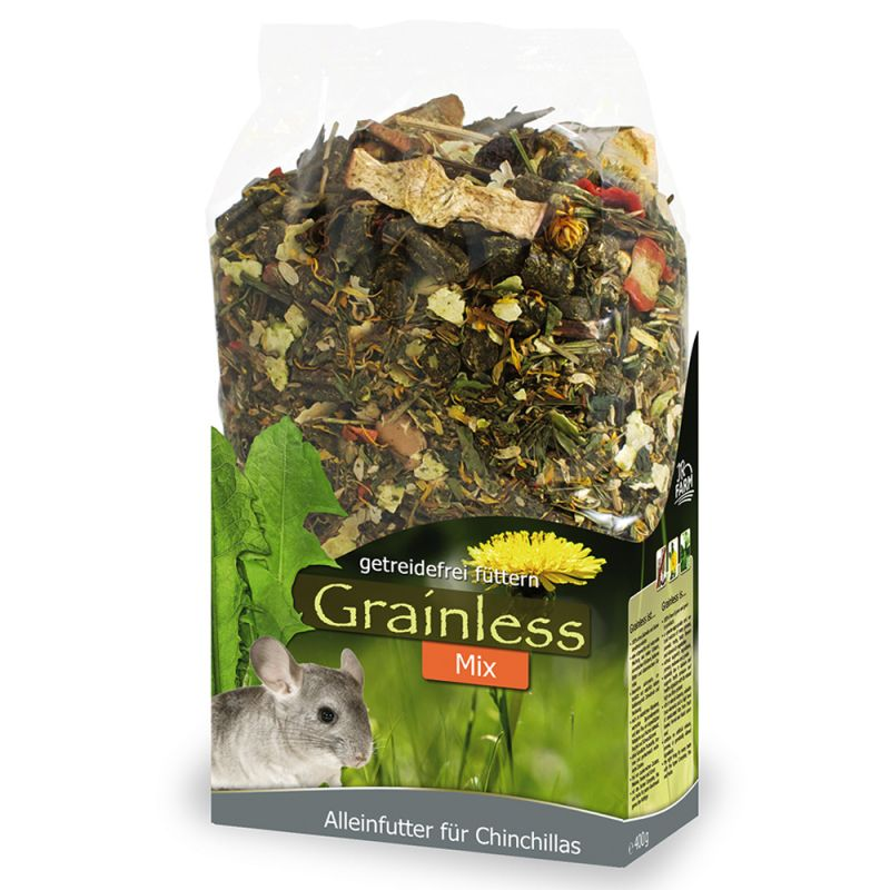jr farm grainless chinchilla mix