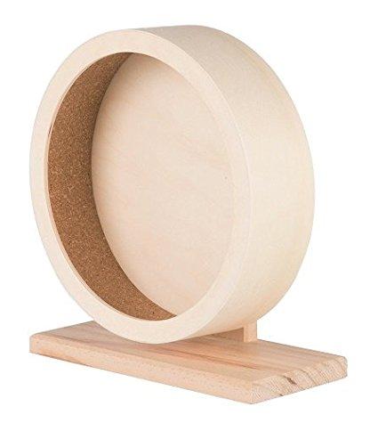 drewniany kołowrotek dla szynszyli