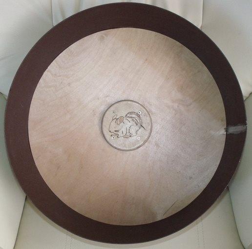metalowy kołowrotek 40 cm dla szynszyli
