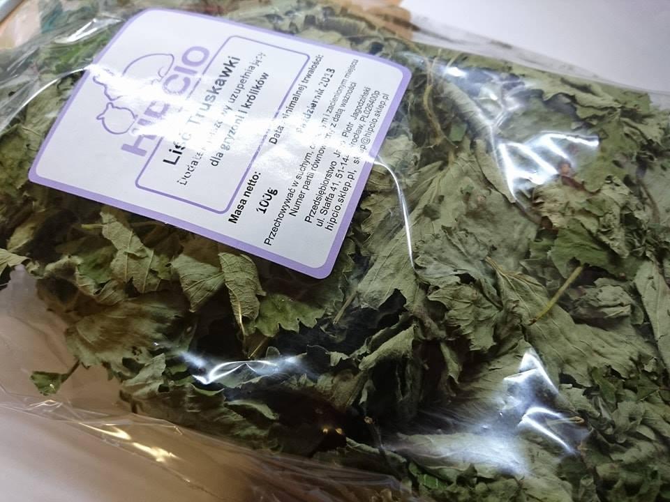 Hipcio liść truskawki etykieta