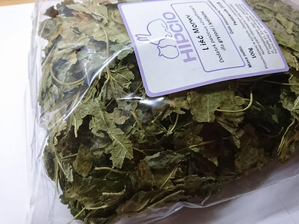 Hipcio - ziele morwy białej etykieta